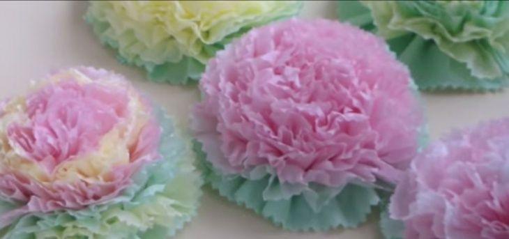 Цветы из салфеток / Декор / Своими руками - выкройки, переделка одежды, декор интерьера своими руками - от ВТОРАЯ УЛИЦА