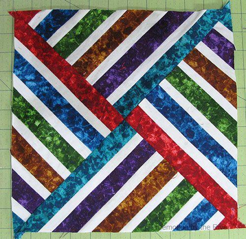 Easy Quilt Block Tutorial-Liste