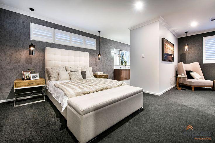 The massive master suite