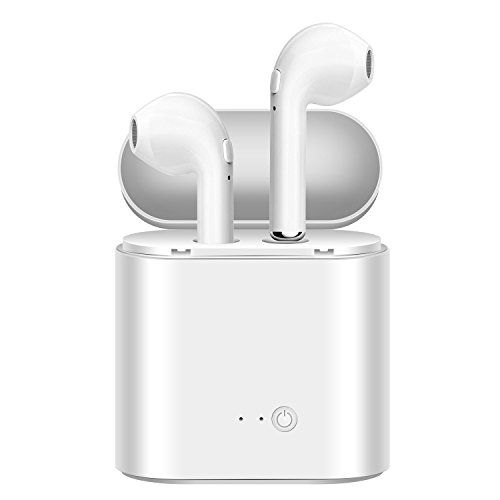 Wireless Earbuds Cankepi Bluetooth Headphones Mini In-Ear Headsets Sports Earphone with Noise Canceling Microphone for iPhone X/8/7/7 plus/6/6s plusSamsung Galaxy S7/S8/S8 PlusAndroid Smart Phones