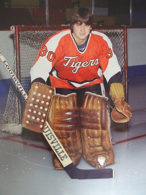 Kelly Hrudey of the Medicine Hat Tigers.
