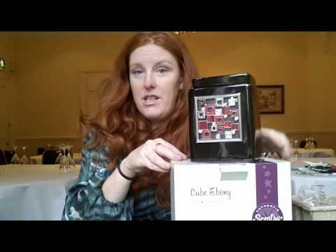 Our Scentsy Ebony Cube Warmer Review - #scentsy warmers #scentedcandles