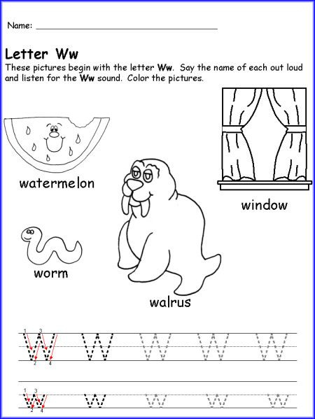 Printables Letter W Worksheets 1000 images about letters on pinterest letter w worksheets for writing the worksheet