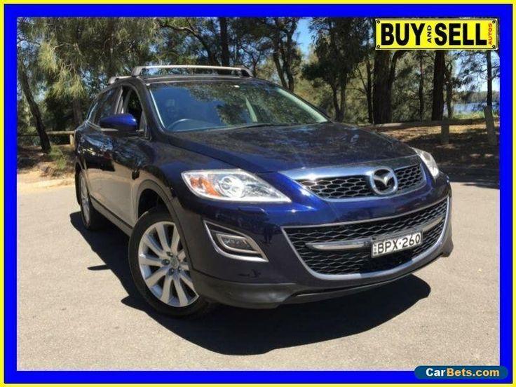 2010 Mazda CX-9 09 Upgrade Grand Touring Blue Automatic 6sp A Wagon #mazda #cx9 #forsale #australia
