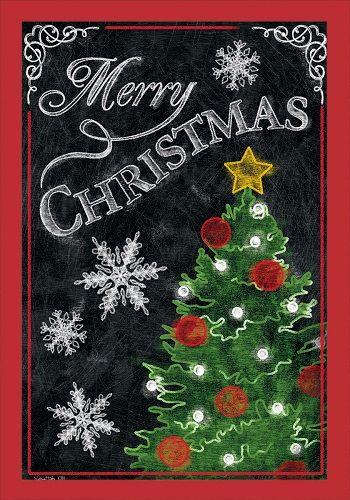 Lovely Custom Decor Flag   Merry Christmas Tree Decorative Flag At Garden House  Flags