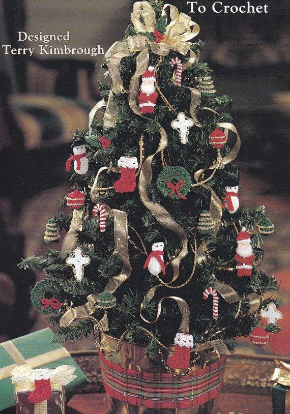 Christmas Ornaments Crochet Patterns