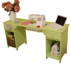 Sewing Cabinet - Pistachio