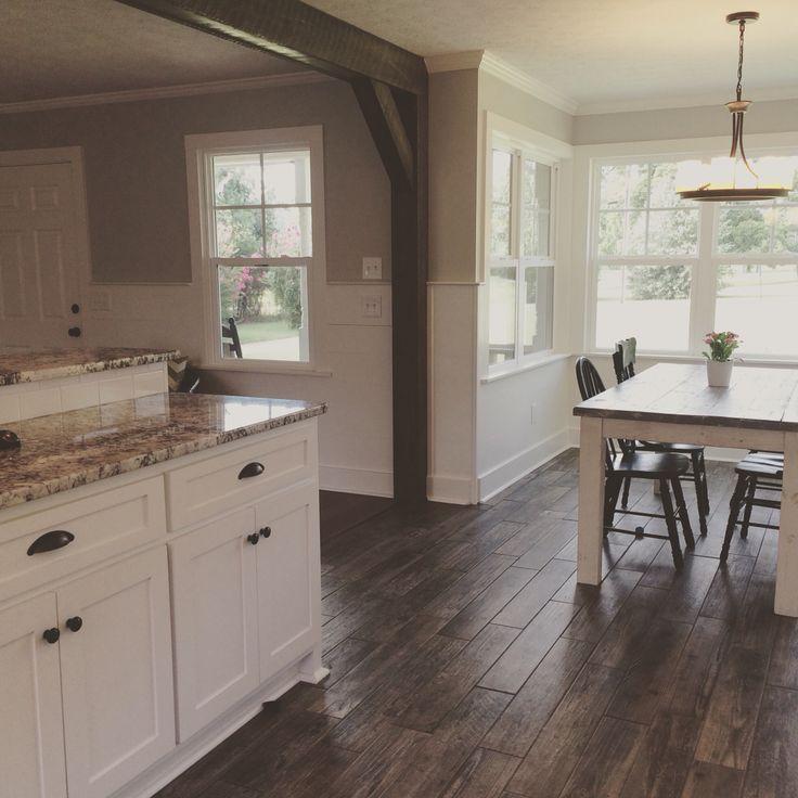 kitchen remodel farmhouse style shiplap cold spring granite tops faux wood tile farmhouse on farmhouse kitchen tile floor id=64787