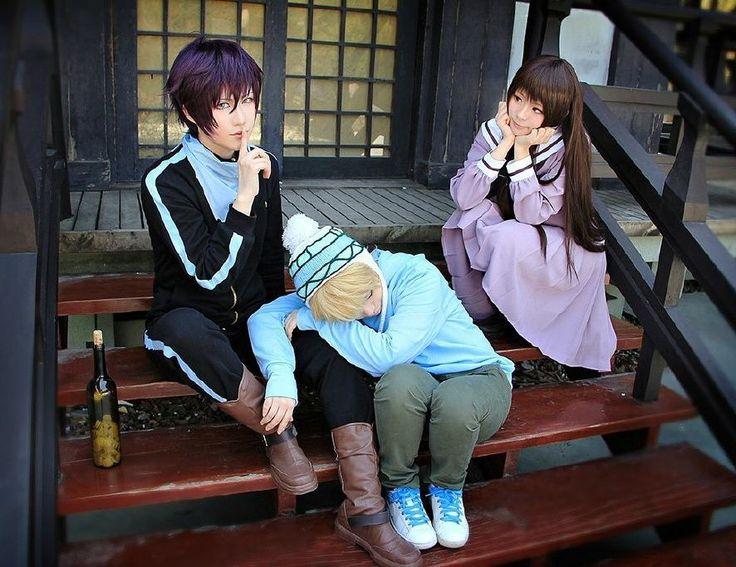 Noragami cosplay | Yato, Yukine, Hiyori