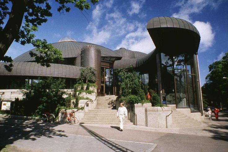 Raili and Reima Pietila Architects: Tampere Main Library, Tampere, Finland, 1978-86