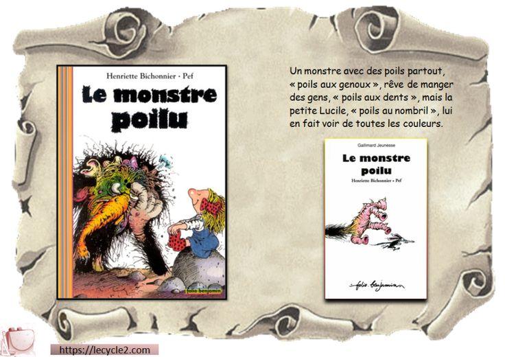 tapuscrit-le-monstre-poilu-couverture-henriette-bichonnier-pef-cycle-2