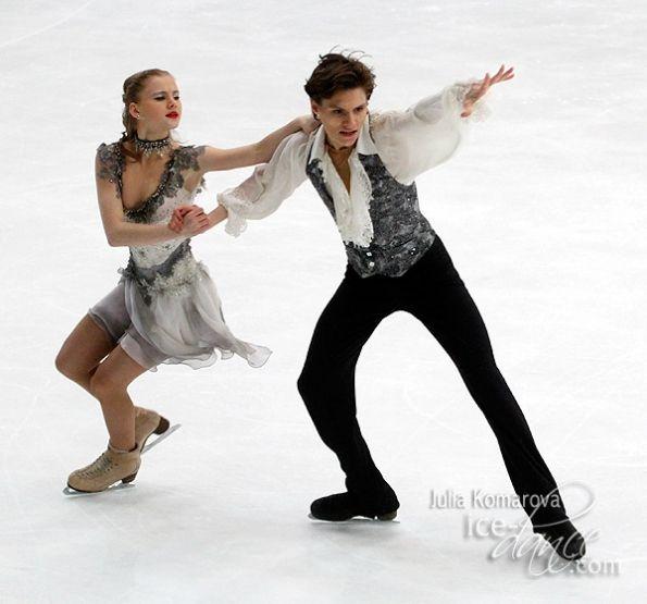 Angelina Avdaseva and Igor Tarasenko