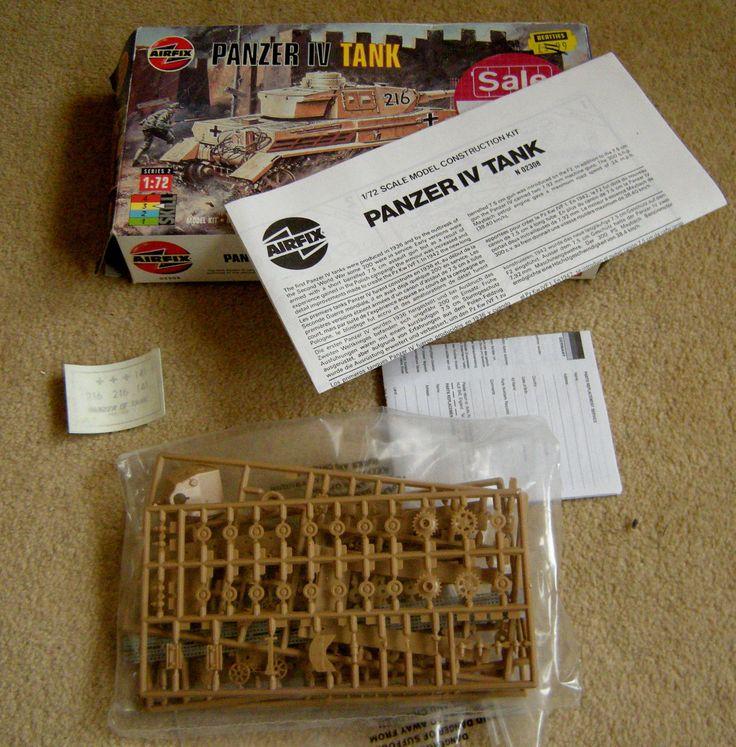 AIRFIX PANZER IV MODEL TANK KIT 1/72 SCALE COMPLETE IN SEALED INNER BAG | eBay