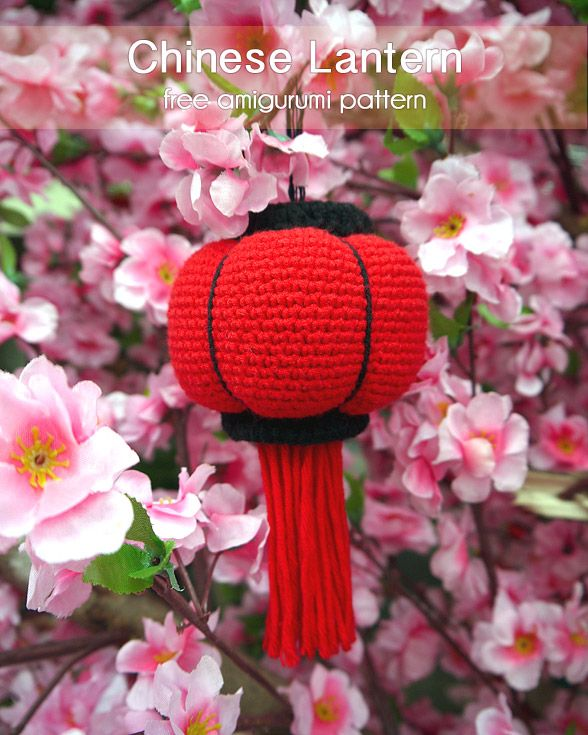 Chinese New Year is just around the corner, crochet Chinese Lantern amigurumi to decorate your house and fill it with the prosperous festive atmosphere – Page 2 of 2