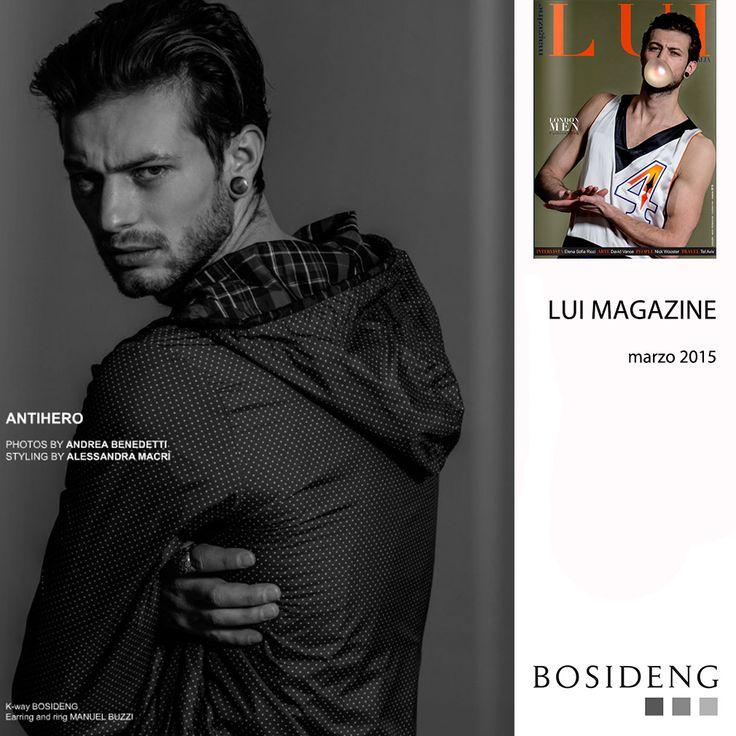 #Press // #BosidengItaly #SS15 k-way in this amazing #editorial on Lui Magazine! #LoveIt