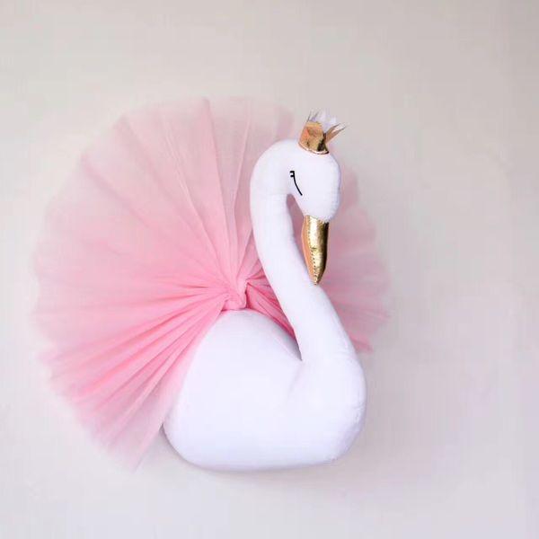 Молочно сад настроить ин золотой корона розовой пряж Лебединого помещения мечты стена декоративные настенные