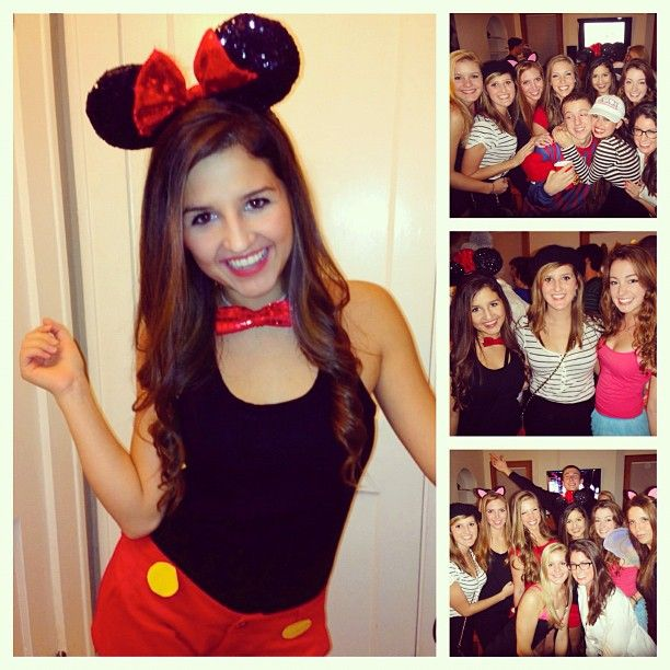 a melissa could dress up as minnie - Halloween Costumes Without Dressing Up