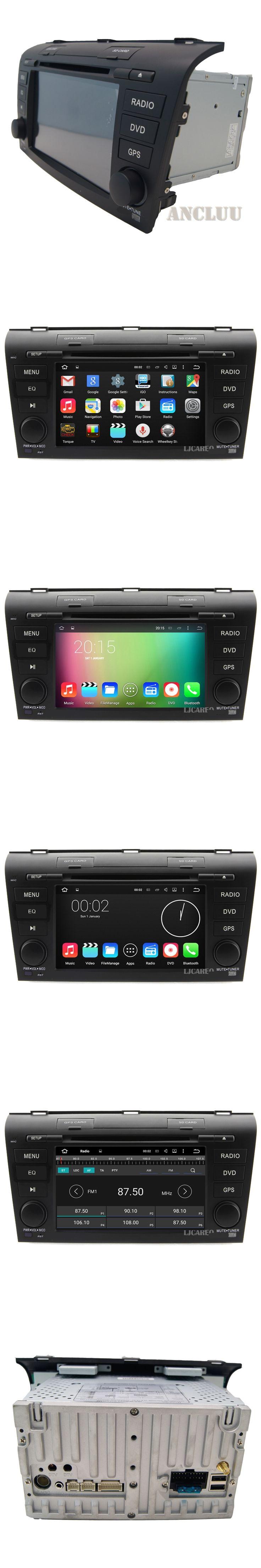 7 inch Quad core Android 5.1 Car DVD Player for MAZDA 3 MAZDA3 2004 2005 2006 2007 2008 2009 Radio GPS head unit bluetooth map