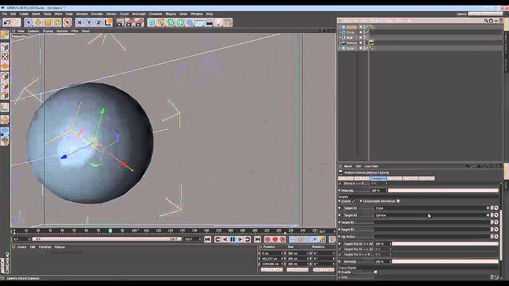 Cinema 4D - Quick Tip - Motion Camera Basics