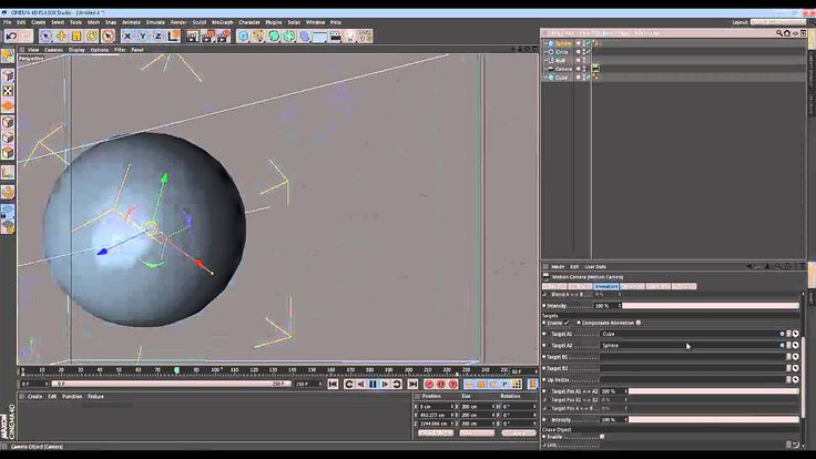 Cinema 4D - Quick Tip - Motion Camera Basics