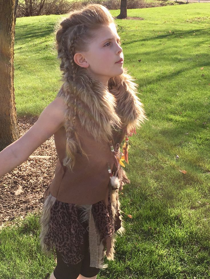 Lost Boys Costume For Girl- Viking Girl Costume- The 100