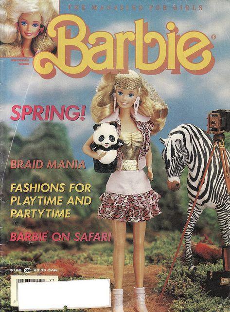 Barbie on Safari, Barbie: The Magazine for Girls, Spring 1989