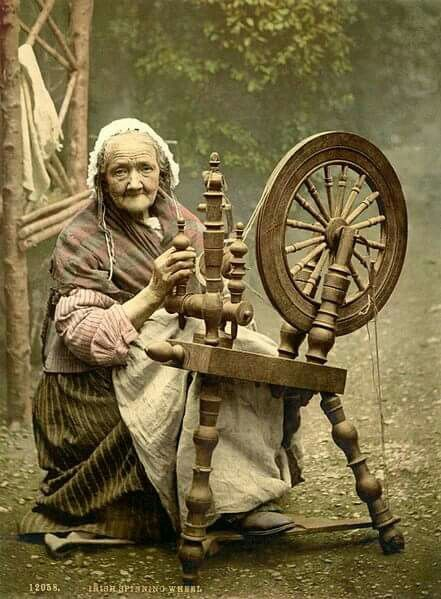 Habetrot.  Celtic goddess of spinning and healing.