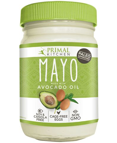 Avocado Mayonnaise with free range eggs! Primal Kitchen ...