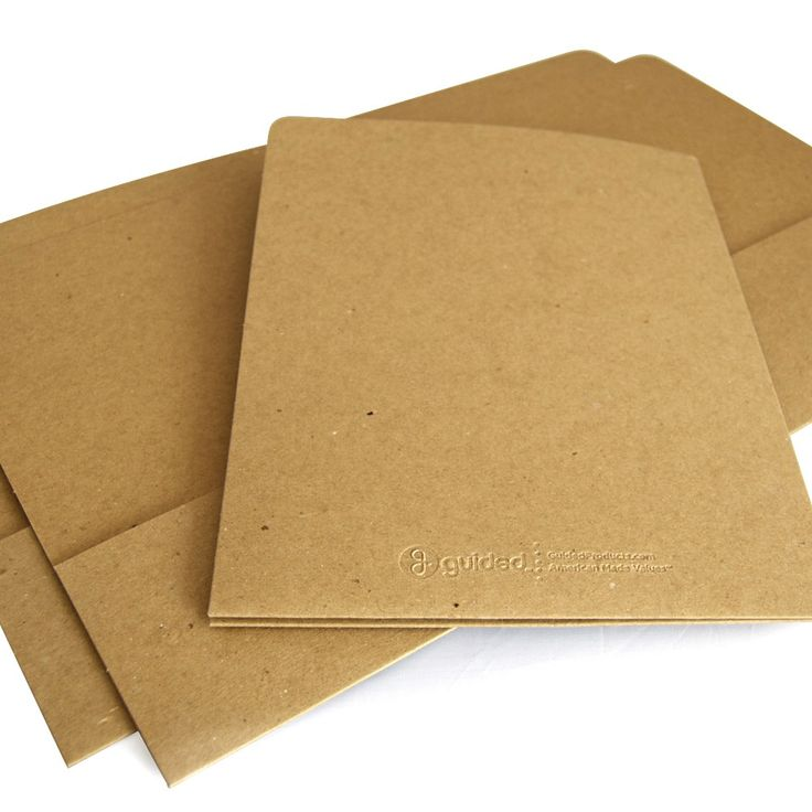 pocket folder recycled folders presentation folders