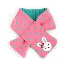 Resultado de imagen para bufandas de polar con motivos infantiles