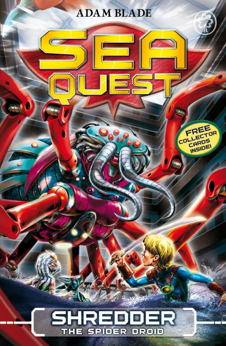 A brand new Sea Quest begins here!  When Max meets the mysterious Sea Ghosts, they ask for his help. An evil genius is threatening to wreck their city! Max ventures beneath the seabed, where he must battle Shredder the Spider Droid...  Don't miss the other books in this series: Stinger the Sea Phantom, Crusher the Creeping Terror and Mangler the Dark Menace.