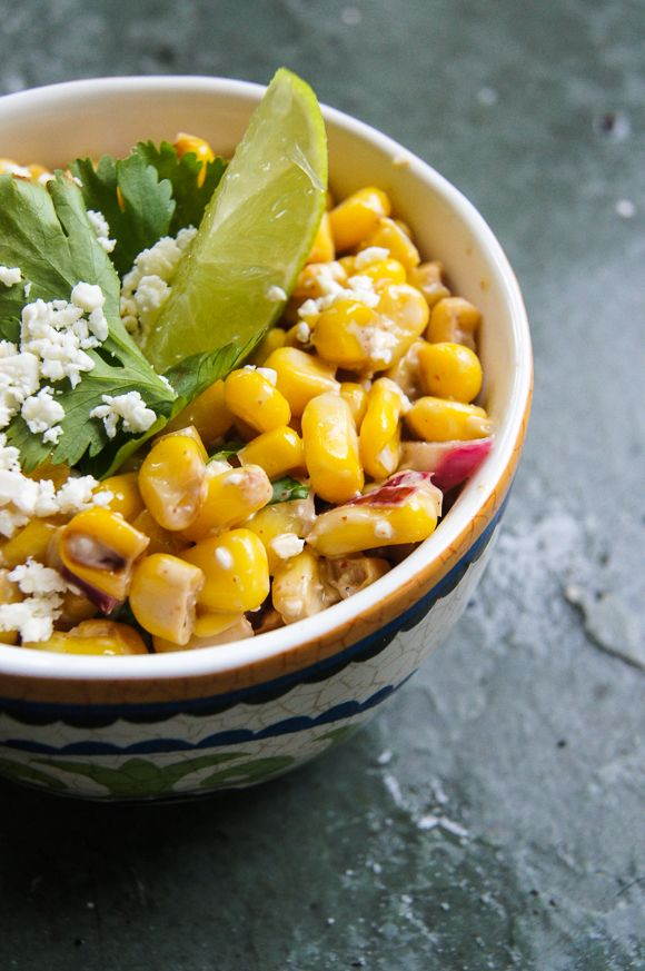 This stuff is fabulous! Esquites - Mexican Corn Street Salad - Home ...