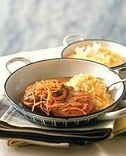 Ossibuchi alla milanese con risotto giallo