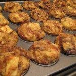 Bread Pudding Mini Muffins | Recipe