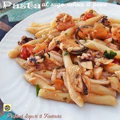 Pasta al sugo veloce di pesce | Profumi Sapori & Fantasia