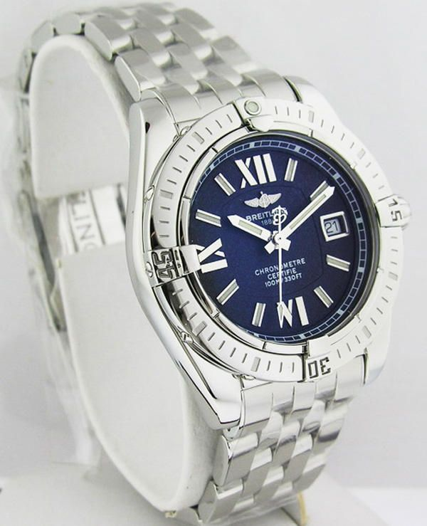 Breitling Windrider Cockpit Lady Stainless Steel Watch