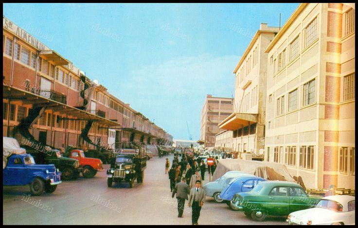 Αποθήκες λιμένος, Πειραιάς 1962.