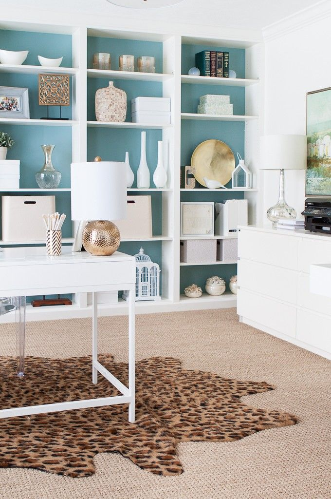 Billy Bookcases DIY for your dream office.