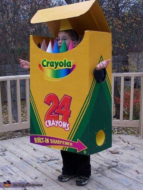 35 creative diy halloween costumes from cardboard boxes for Cardboard halloween decorations diy