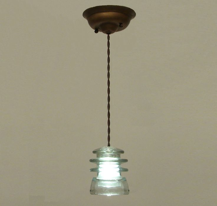 75 best images about insulator ideas on pinterest for Antique insulator pendant lights