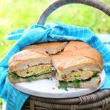 Turks brood gevuld met pittige kip/kaasomelet - Vereniging van Keurslagers