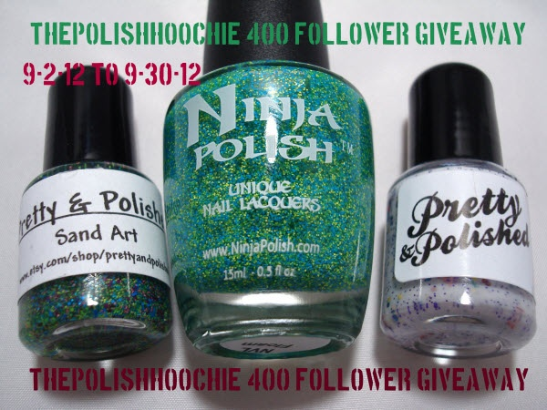 ThePolishHoochie: 400 Followers Giveaway!!!: Awesome Giveaways, Nails Obess, Nails Art, Blog Giveaways, Contest Giveaways, Blog Follow, 400 Blog, 400 Follow, Couple Polish