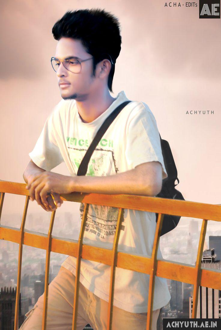 Achyuth AE, Achyuth Kumar   ACHA - EDITs (AE): side-Bag,glass,T-shert,street rode