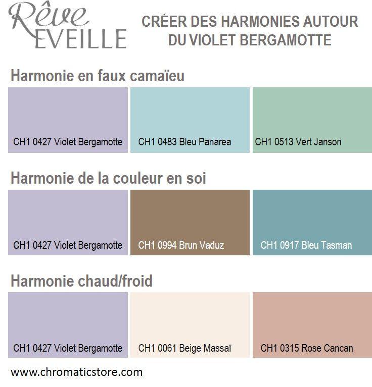 47 best creer des harmonies de couleurs images on pinterest - Harmonie des couleurs en peinture ...