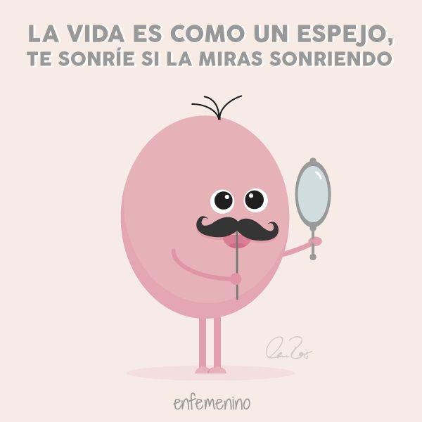 ¡Sonríele a la vida! #frasedeldia #movember