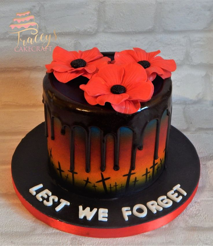 Remembrance day cake