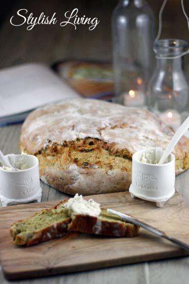 Zucchinibrot nach Jamie Oliver