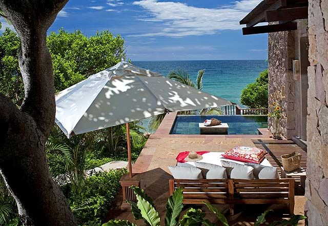 This was our ridiculously luxurious villa with private pool at #Imanta - a fab hideaway at Punta de Mita #Mexico. Read our review: http://www.sandinmysuitcase.com/puerto-vallarta-hideaways-eco-chic-uber-luxe/
