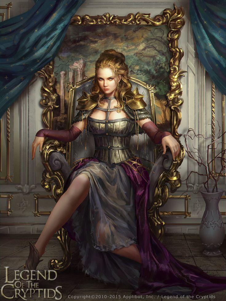 Legend of the Cryptids - Caella reg., Laura Sava on ArtStation at https://www.artstation.com/artwork/31rAE