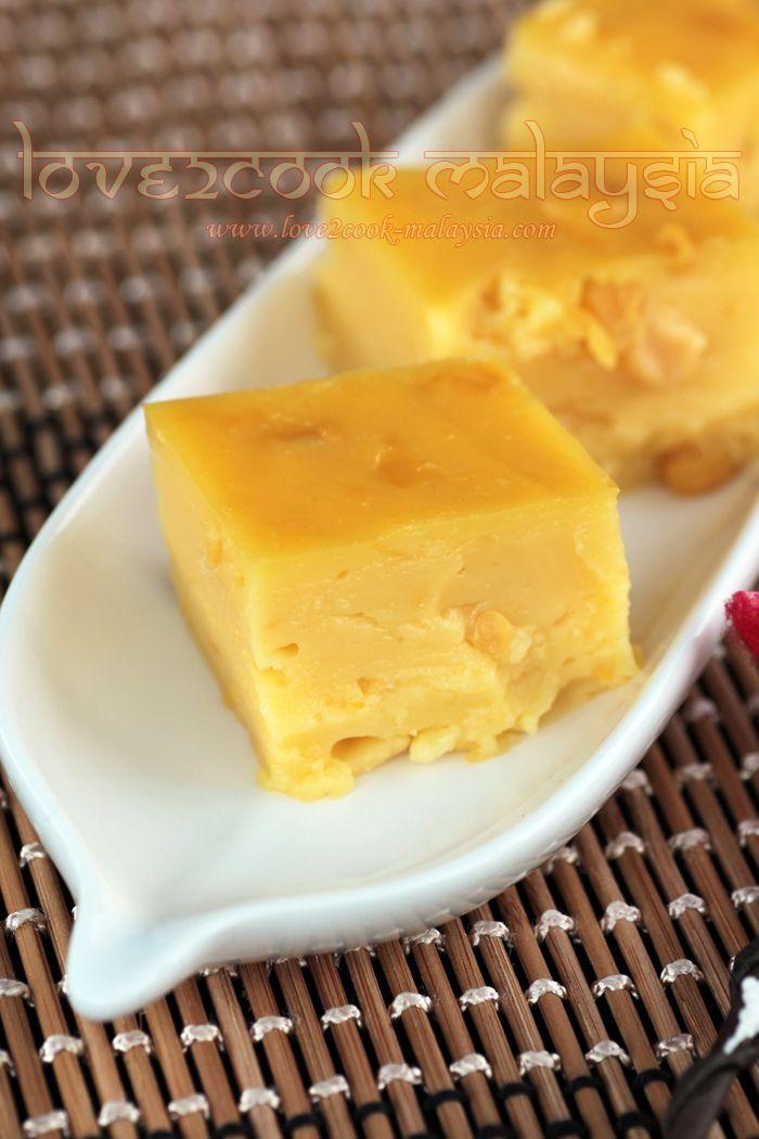 ♥ LOVE2COOK MALAYSIA♥: Corn Custard Pudding / Puding Kastad Jagung...♥